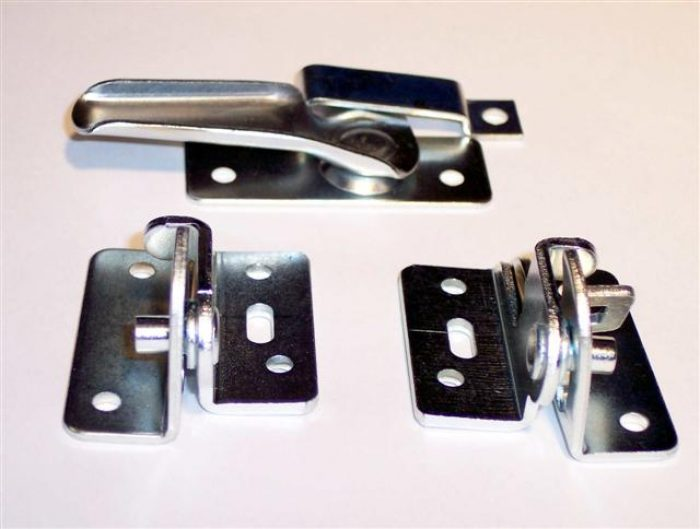 MMP Hopper Basement Hardware Zinc Plated