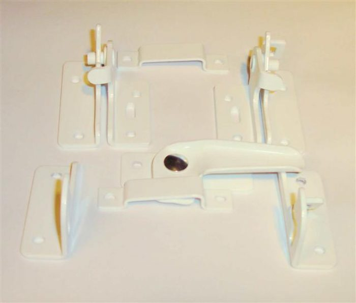 MMP Double Basement Hardware White Painted