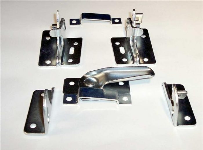 MMP Double Basement Hardware Zinc Plated